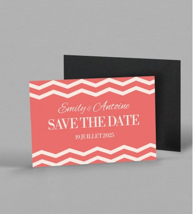 Save the date Magnet Seductive Rose