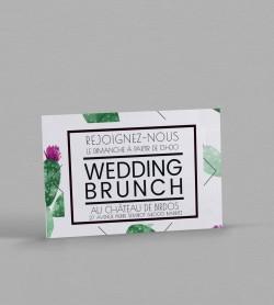 Wedding Brunch Exotique Cactus