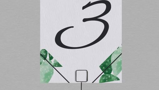 Numéro de table Exotique Cactus
