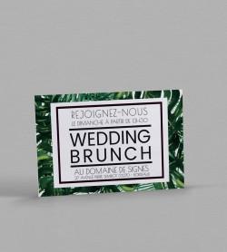 Wedding Brunch exotique Jungle