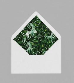 Intérieur enveloppe exotique Jungle