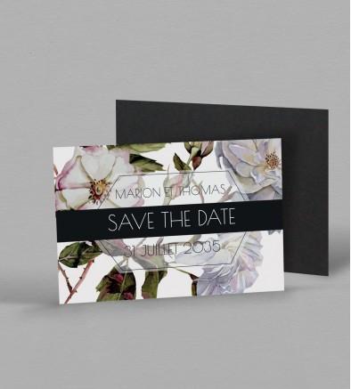 Save the date Magnet Botanique Appoline