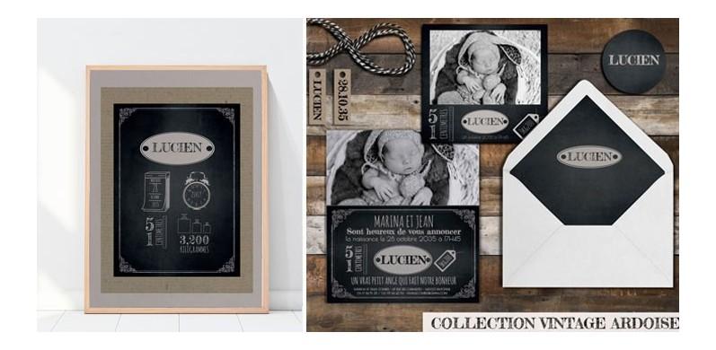 Collection vintage Ardoise
