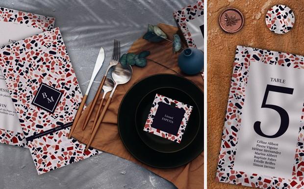 Collection design Terrazzo